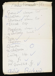 DG's Christmas List 1961_c