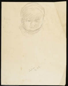 CHA/P/656. Julian Bell as a Child. ©The Charleston Trust.