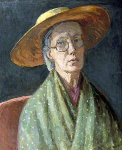 Vanessa Bell Self Portrait bbc your paintings