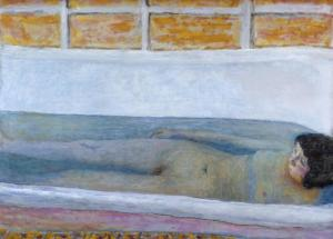 The Bath 1925 by Pierre Bonnard 1867-1947